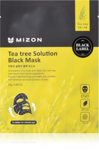 Mizon Tea Tree Solution успокояваща платнена маска