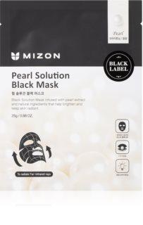 Mizon Pearl Solution освітлювальна косметична марлева маска