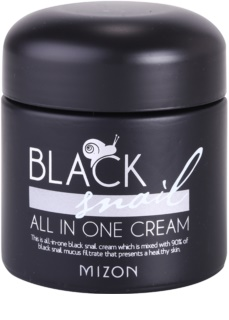 Mizon Black Snail All in One creme facial filtro com muco de caracol 90%