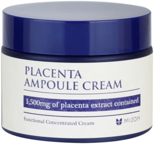 Mizon Placenta Ampoule Cream Cream For Regeneration And Skin Renewal