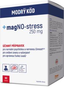 MODRÝ KÓD magNO-stress doplněk stravy  pro podporu činnosti nervové soustavy
