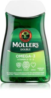Möller's Omega 3 Double doplněk stravy  pro podporu imunitního systému