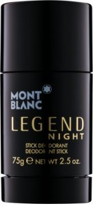 Montblanc Legend Night deodorante stick per uomo