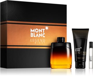 Montblanc Legend Night lote de regalo IV. para hombre