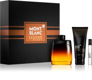Montblanc Legend Night lote de regalo I. para hombre