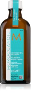 Moroccanoil Treatment λάδι για λεπτά, βαμμένα μαλλιά
