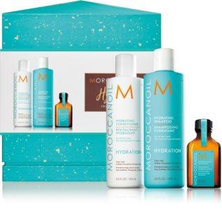 Moroccanoil Hydration подаръчен комплект (за суха и нормална коса)