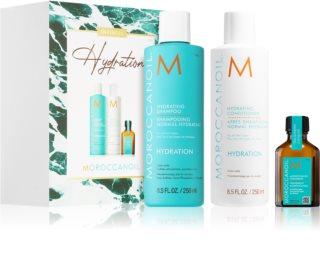 Moroccanoil Hydration coffret cadeau (pour cheveux secs)