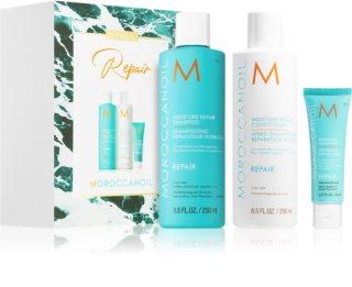 Moroccanoil Repair zestaw kosmetyków (do włosów zniszczonych zabiegami chemicznymi)