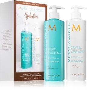 Moroccanoil Hydration изгодна опаковка (за хидратация и блясък)