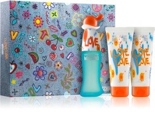 Moschino I Love Love подаръчен комплект XIII. за жени