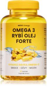 Movit Energy Omega 3 Rybí olej FORTE doplněk stravy na podporu zdravého zraku, nervové a kardiovaskulární soustavy