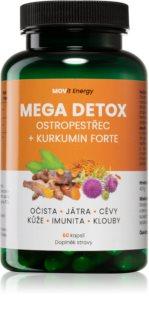 Movit Energy Mega Detox Ostropestřec+Kurkumin doplněk stravy pro detoxikaci organismu a podporu činnosti jater