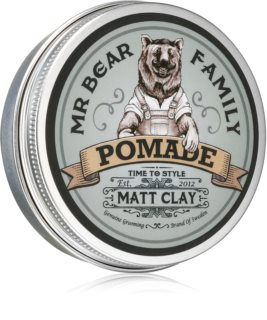 Mr Bear Family Matt Clay Matte Hair Grease