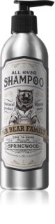 Mr Bear Family Springwood Natural Shampoo for Men
