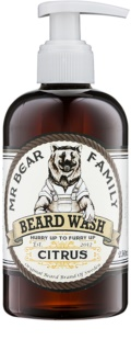 Mr Bear Family Citrus champô para a barba