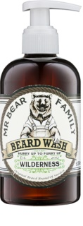 Mr Bear Family Wilderness shampoo per barba