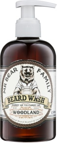 Mr Bear Family Woodland champô para a barba