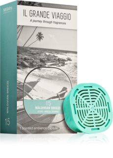 Mr & Mrs Fragrance Il Grande Viaggio Maldivian Breeze refill for aroma diffusers capsules
