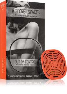 Mr & Mrs Fragrance Secret Spaces Out of Control recharge pour diffuseur d'huiles essentielles capsules