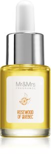 Mr & Mrs Fragrance Blanc Rosewood of Quebec huile parfumée