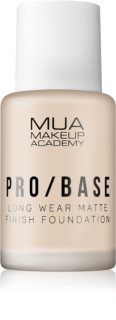 MUA Makeup Academy Pro/Base fond de teint matifiant longue tenue