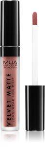MUA Makeup Academy Velvet Matte Matter Flüssig-Lippenstift