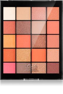 MUA Makeup Academy Professional 20 Shade Palette paleta cieni do powiek