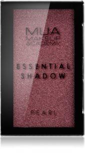 MUA Makeup Academy Essential ombretti perlati