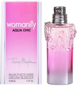Mugler Womanity Aqua Chic 2013 Edition eau de toilette pentru femei