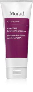 Murad Hydratation AHA/BHA Exfoliating Cleanser очищуючий гель-ексфоліант