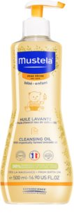 Mustela Bébé Dry Skin Cleansing Oil for Children from Birth