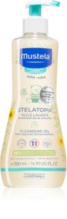 Mustela Bébé Stelatopia olio da bagno e per il corpo per bambini per pelli atopiche