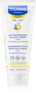 Mustela Bébé Soin lait corporel riche en Cold Cream