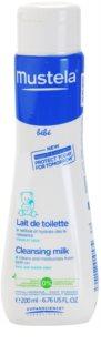 Mustela Bébé Toillete leite de limpeza com efeito hidratante