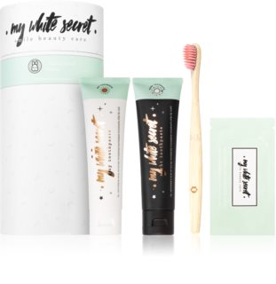 My White Secret Smile Beauty Care set pentru îngrijirea dentară (pentru un zambet radiant)