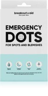 My White Secret Breakout + Aid Emergency Dots lokálna starostlivosť proti akné na tvár, dekolt a chrbát s aloe vera
