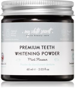 My White Secret Whitening Powder Valkaiseva Hammasjauhe Herkille Hampaille