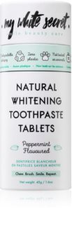 My White Secret Toothpaste Tablets Whitening Tandpasta