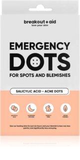 My White Secret Breakout + Aid Emergency Dots lokálna starostlivosť proti akné na tvár, dekolt a chrbát