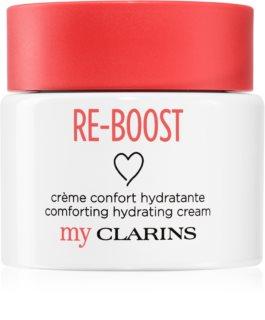 My Clarins Re-Boost hidratáló arckrém az érzékeny száraz bőrre