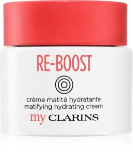 My Clarins Re-Boost crema de fata hidratanta pentru ten gras