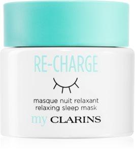 My Clarins Re-Charge detoxikáló éjszakai krém