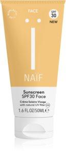 Naif Face Aurinkovoide Kasvoille SPF 30