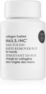 Nails Inc. Powered by Collagen odstranjevalec laka za nohte brez acetona