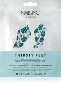Nails Inc. Thirsty Feet mascarilla hidratante para pies