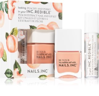 Nails Inc. Peachy and Perky conditionnement avantageux II.