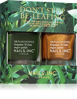 Nails Inc. Don't Stop Be-Leafing formato poupança (para unhas )