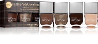 Nails Inc. Like You A Choco-Lot coffret cadeau (ongles)