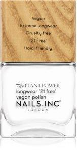 Nails Inc. Vegan Nail Polish lakier do paznokci o dużej trwałości